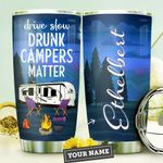 Camping Personalized DNC1410002 Stainless Steel Tumbler
