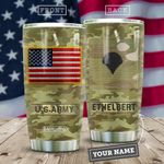 Veteran Personalized MDA2409008 Stainless Steel Tumbler