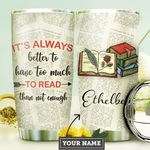 Books Personalized DNA2010007 Stainless Steel Tumbler
