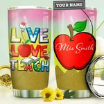 Teacher Personalized MDA1210043 Stainless Steel Tumbler