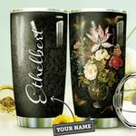 Flower Vase Butterfly Personalized DNE0910016 Stainless Steel Tumbler