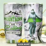 Snowboarding Personalized MDA1310029 Stainless Steel Tumbler