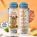 Owlaholic Personalized HTR1510006 Water Tracker Bottle