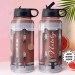 Drum KD4 Personalized HHA0810008 Stainless Steel Bottle With Straw Lid