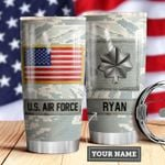 Air Force Personalized MDA0510015 Stainless Steel Tumbler