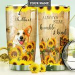Corgi KD4 Personalized DNA0910014 Stainless Steel Tumbler