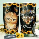 Owlaholic Personalized HTR1210015 Stainless Steel Tumbler