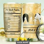 Pit Bull Facts Personalized MDA1210041 Stainless Steel Tumbler
