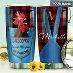 Farmer Personalized HHA0710014 Stainless Steel Tumbler