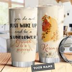 Black Women Personalized DHA3009003 Stainless Steel Tumbler