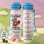 Owl Book Personalized HTR1510004 Water Tracker Bottle