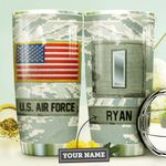 Air Force Personalized MDA0310012 Stainless Steel Tumbler