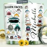 Shark Personalized HTR1410032 Stainless Steel Tumbler