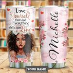 Love Black Women Personalized HHE2509017 Stainless Steel Tumbler
