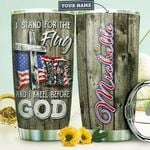Veteran Personalized HTR1310017 Stainless Steel Tumbler