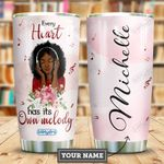 Music Love Black Women Personalized HHE2509020 Stainless Steel Tumbler