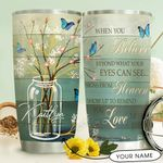 Butterfly Personalized THV1510001 Stainless Steel Tumbler