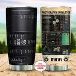 Photography Knowledge Personalized KD2 MAL0810021 Stainless Steel Tumbler