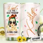 The Best Makeup Personalized THV1410010 Stainless Steel Tumbler