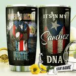 Puerto Rican Pride Personalized THV0810004 Stainless Steel Tumbler