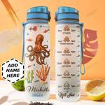 Octopus Personalized HHE0210013 Water Tracker Bottle