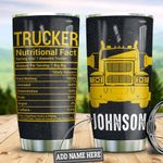 Personalized Trucker Nutrition Facts HLZ1610020