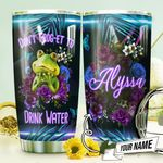 Frog Drink Water Personalized THV0810003 Stainless Steel Tumbler
