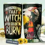 Witch Personalized HHW1310020 Stainless Steel Tumbler