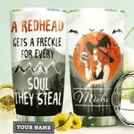 Redhead Witch Personalized HTR2909026 Stainless Steel Tumbler