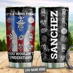 Personalized Puerto Rico Taino Things HLZ2010017 Stainless Steel Tumbler