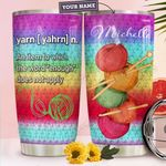 Crochet Personalized HHA1610014 Stainless Steel Tumbler