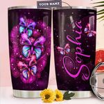Butterfly Personalized TTR1910003 Stainless Steel Tumbler