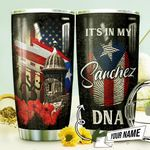 Puerto Rico Symbols Personalized THV0810007 Stainless Steel Tumbler