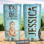 Personalized Hippie Inhale Sloth HLZ1610013