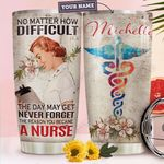 Nurse Personalized HHA1710016 Stainless Steel Tumbler