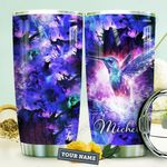 Trippy Hummingbird Personalized HTQ0910018 Stainless Steel Tumbler