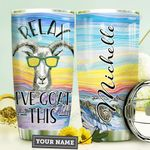 Goat Personalized HTR3009029 Stainless Steel Tumbler