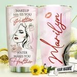 Makeup And Drink Personalized THV1210005 Stainless Steel Tumbler