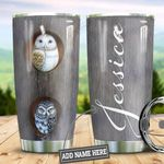 Personalized Owl HLZ1310017 Stainless Steel Tumbler