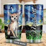 Chihuahua Starry Night Personalized HTR2509023 Stainless Steel Tumbler