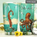 Octopus Personalized HHE0210007 Stainless Steel Tumbler