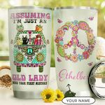 Hippie Personalized DNC1610008 Stainless Steel Tumbler