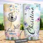 Dandelion Dragonfly Personalized HAA2209011 Stainless Steel Tumbler