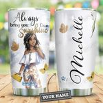Love Black Women Personalized HHE2409003 Stainless Steel Tumbler