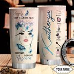 Mascara Angel Personalized THV1610008 Stainless Steel Tumbler
