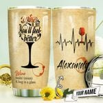 Wine Therapy Personalized THV1310006 Stainless Steel Tumbler