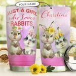 Bunny Personalized MDC1610028 Stainless Steel Tumbler