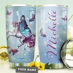 Fantasy Butterfly Unicorn Personalized HHE0210003 Stainless Steel Tumbler