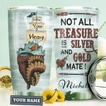 Octopus Pirate Ship Personalized HHE0610010 Stainless Steel Tumbler