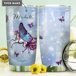 Fantasy Butterfly Unicorn Personalized HHE0210004 Stainless Steel Tumbler